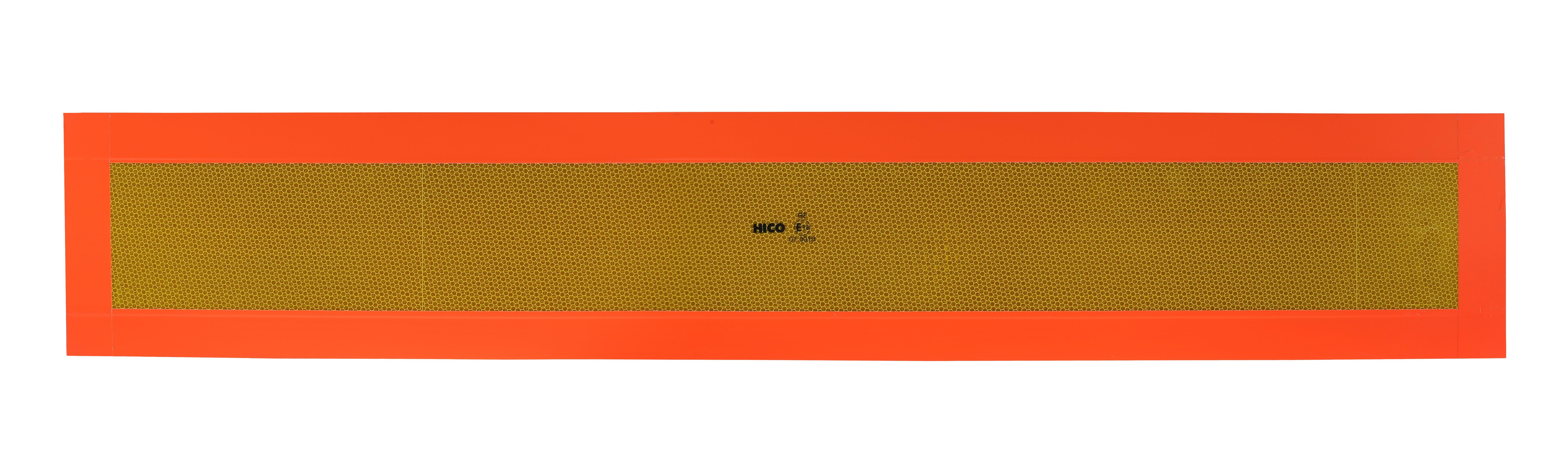 Tablica wyróżniająca na przyczepę nalepka RF 1130 x 196
