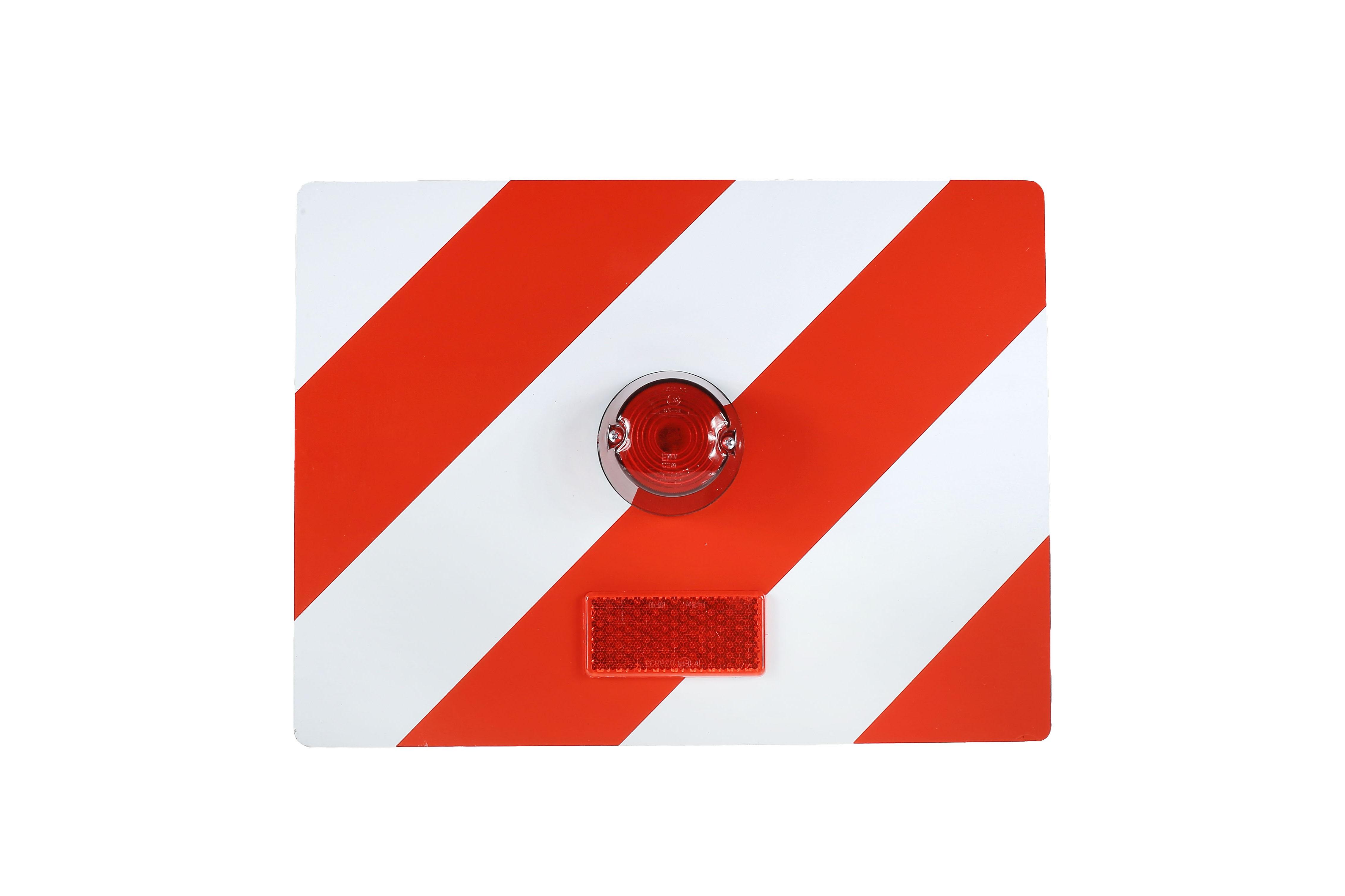 Tablica wyróżniająca p/g 400x300 lewa z oświetleniem czerwonym