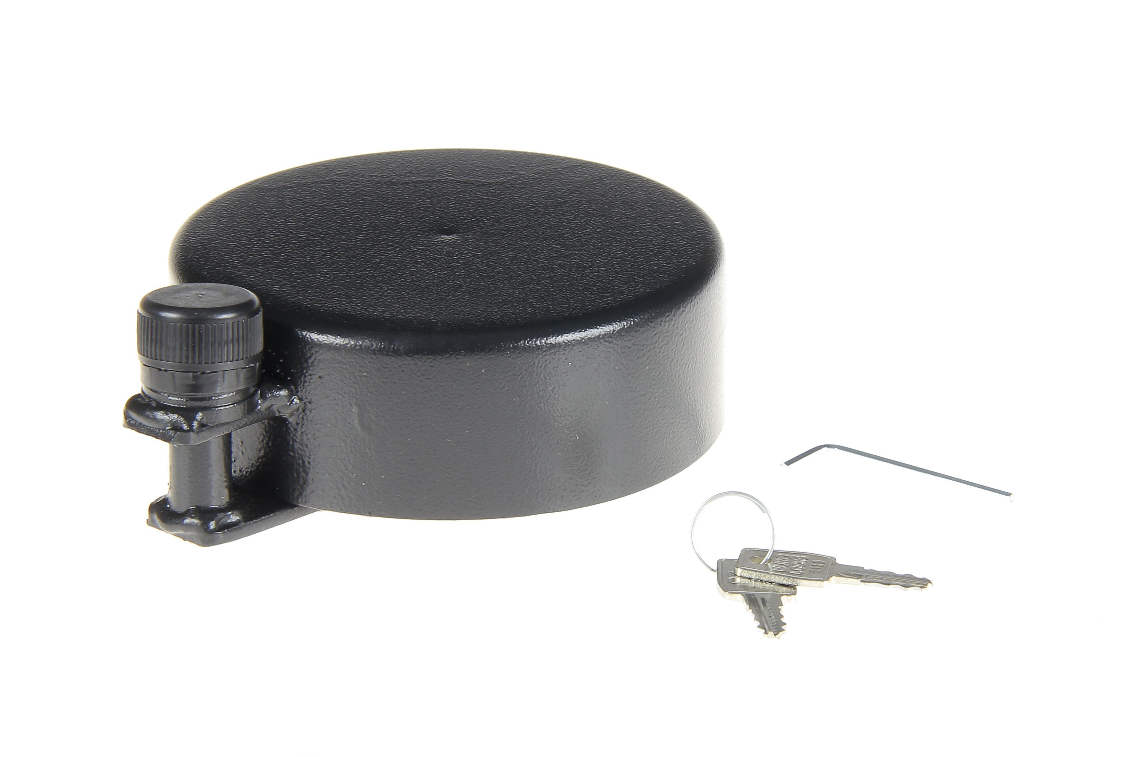 Zabezpieczenie wlewu zbiornika baku paliwa pełne kluczyk