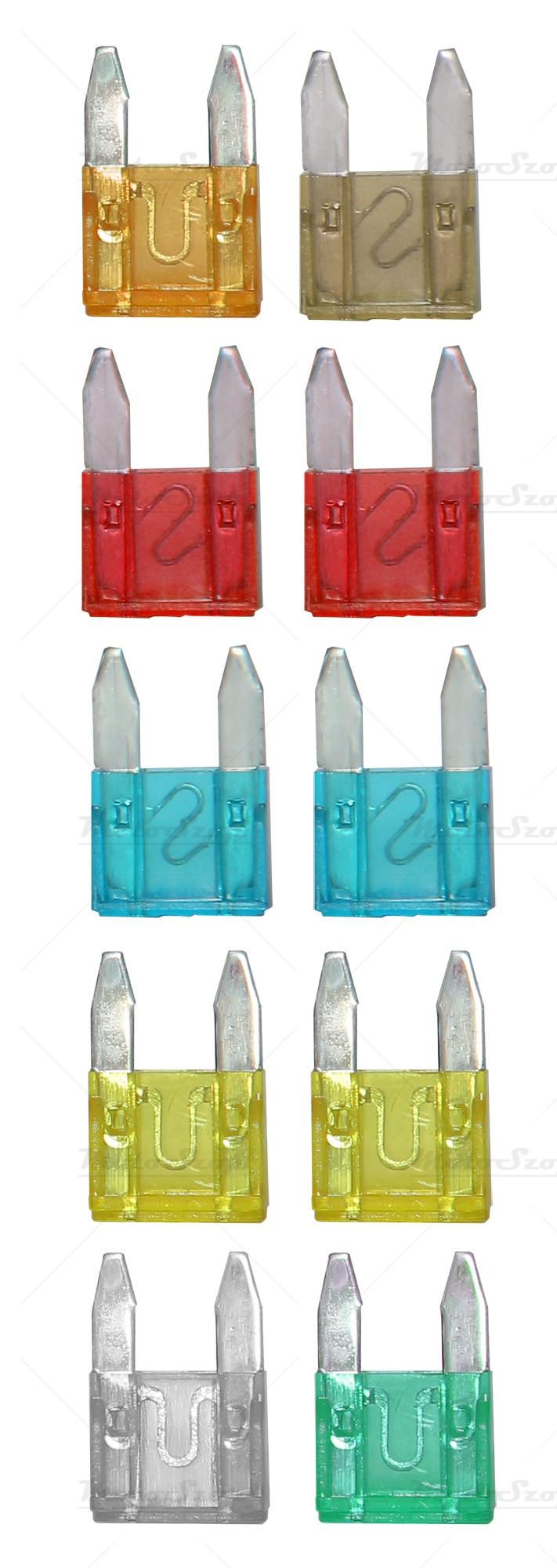 Bezpiecznik płytkowy MINI 25A (100szt.)
