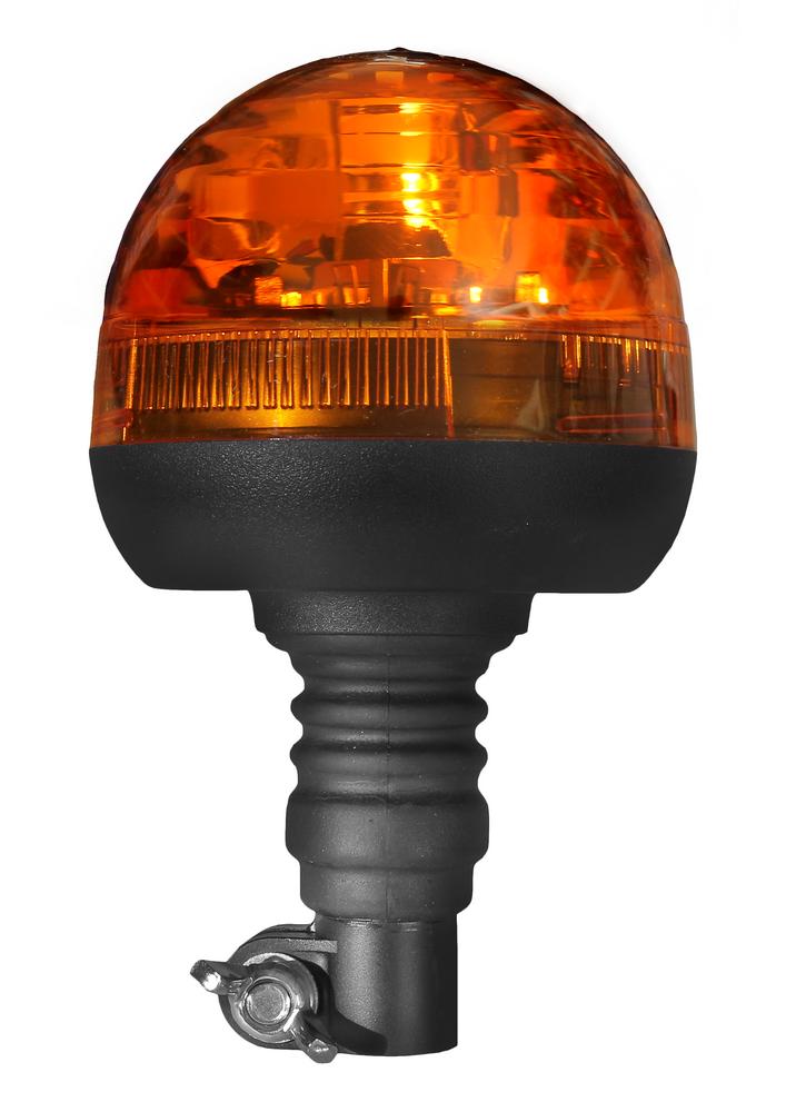 Lampa obrotowa kogut MICRO 12/24V elastyczny H1 55W