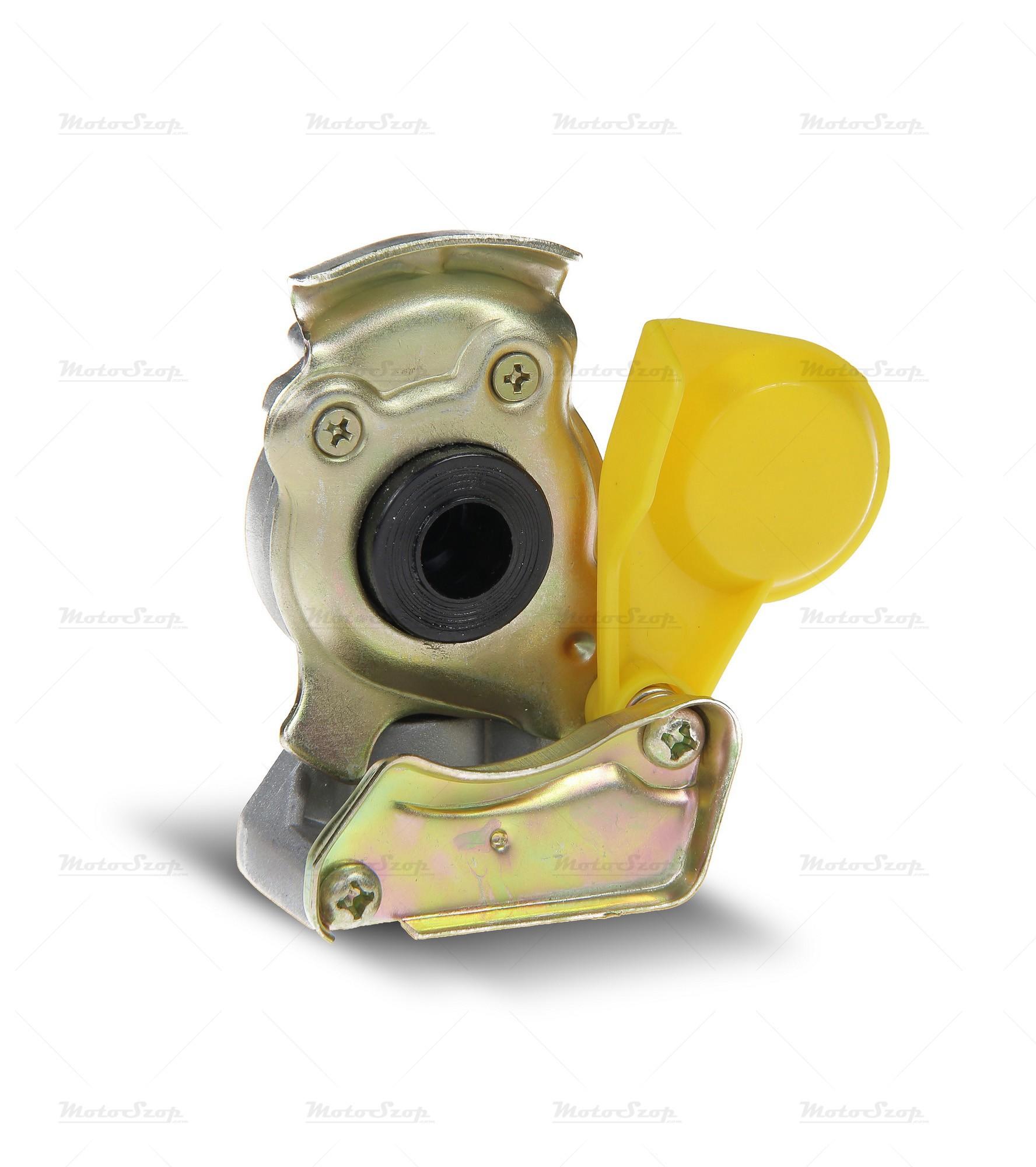 Złącze pneumatyczne miękkie M16 x 1.5 żółte