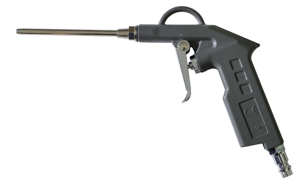 Pistolet do przedmuchu długa końcowka 10cm