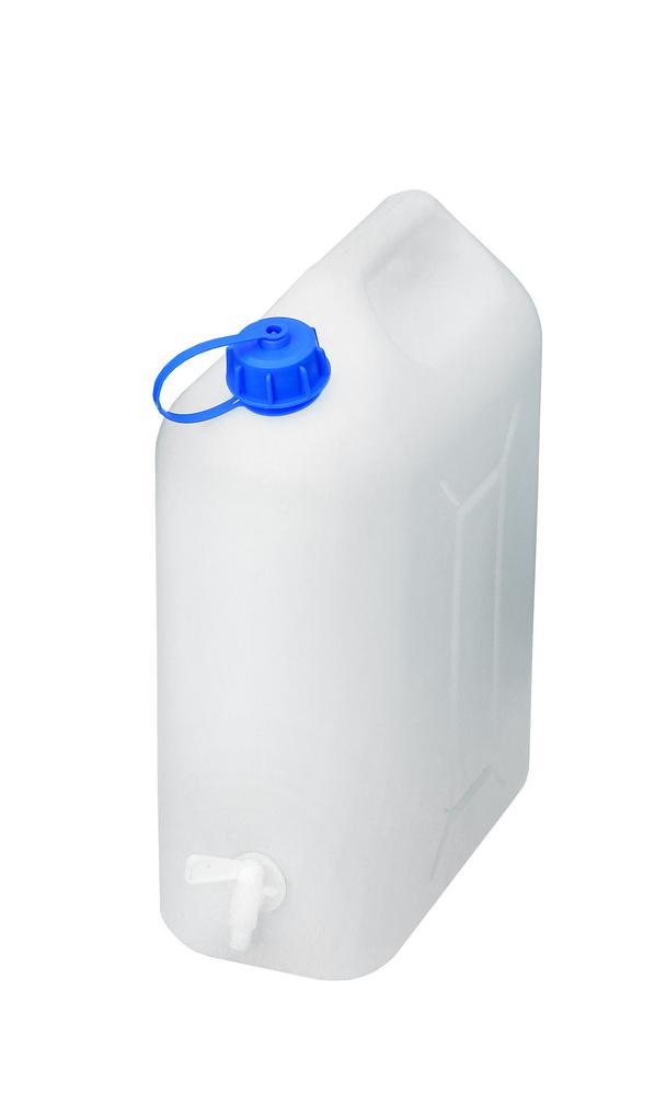 Pojemnik na wodę 10l kranik plastikowy