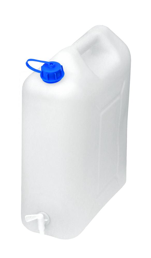 Pojemnik na wodę 20l kranik plastikowy