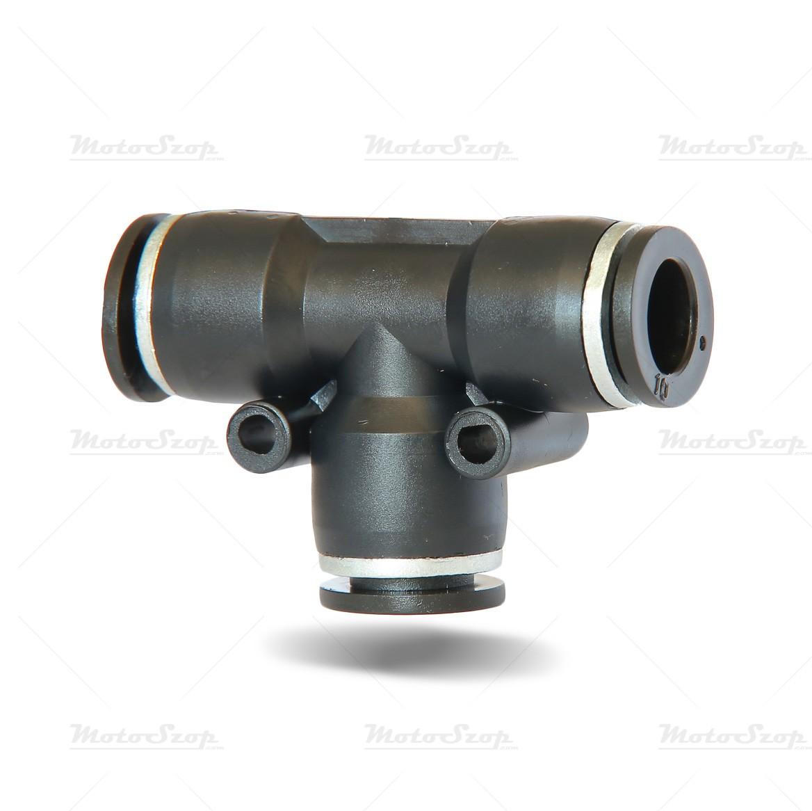 Szybkozłączka plastik trójnik 8mm
