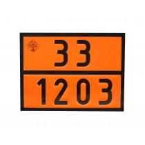 Tablica ADR numeryczna 33-1203 PB