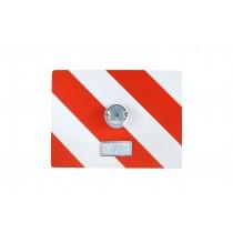 Tablica wyróżniająca p/g 400x300 prawa z oświetleniem białym