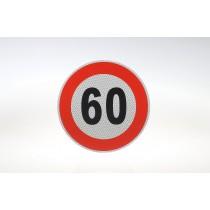 Limit prędkości odblask 60 km/h