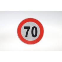 Limit prędkości odblask 70 km/h