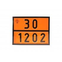 Tablica ADR numeryczna 30-1202 ON