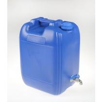 Pojemnik na wodę niebieski 20l
