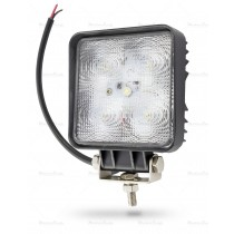Lampa robocza LED 10-30V kwadrat 5x3W