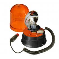 Lampa obrotowa kogut 12/24V magnes H1 55W