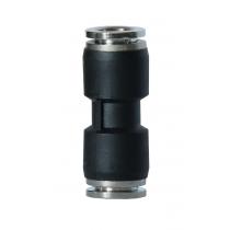 Szybkozłączka prosta metal-plastik 4mm