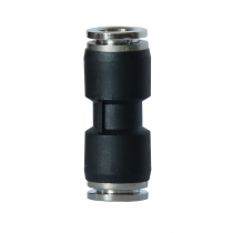 Szybkozłączka prosta metal-plastik 6mm