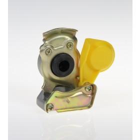 Złącze pneumatyczne miękkie M22 x 1.5 żółte