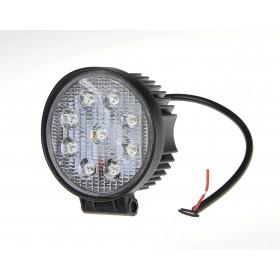 Lampa robocza LED 10-30V 9x3W okrągła