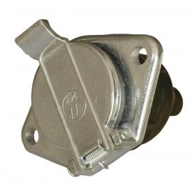 Gniazdo 7 pin 24V typ N metal