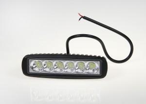 Lampa robocza LED 10-30V prostokątna 6x3W wąska