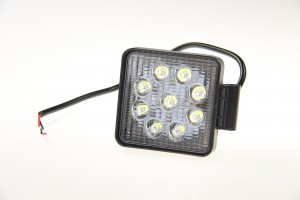 Lampa robocza LED 10-30V 9x3W prostokątna