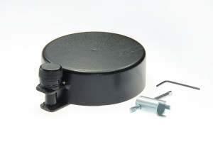 Zabezpieczenie wlewu zbiornika baku paliwa pełne śruba
