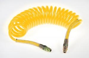 Przewód spiralny pneumatyczny M16 żółty 5,5m