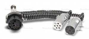 Przewód elektryczny Adapter metal