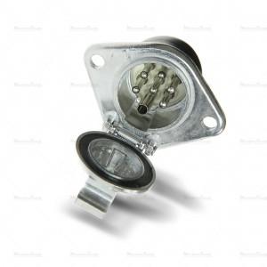 Gniazdo 7 pin 24V typ S metal