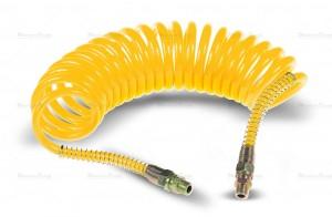 Przewód spiralny pneumatyczny M22 żółty 5,5m