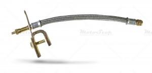 Przedłużka do pompowania kół oplot metal 250mm
